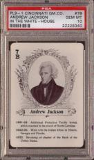 1900-1921 Pl9-1 Cincinnati Gm.co. #7b Andrew Jackson Pop 3 Psa 10 N1491529-340