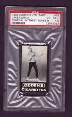1902 Ogden's Ltd. Tabs JAKE KILRAIN #76 PSA VG-EX+ 4.5 General Interest