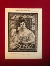 1904, Coca-Cola, (Hilda Clark) Advertisement (Scarce)
