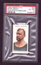 1909 Ogden Ltd. PETER WRIGHT #53 PSA EX-MT 6 Pugilists & Wrestlers