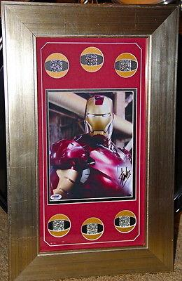 STAN LEE signed autographed framed IRON MAN 8x10 photo PSA DNA COA marvel comic