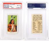 1910 Dockman & Sons Wild West Gum Bear Foot #3 PSA 8 Pop 1 Highest Grade