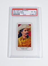 1910 Dockman & Sons Wild West Gum Buffalo Bill Cody #7 PSA 6