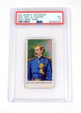 1910 Dockman & Sons Wild West Gum General George Custer PSA 5 DA024977