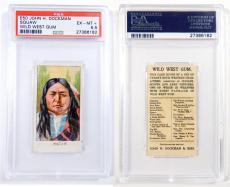 1910 Dockman & Sons Wild West Gum Squaw PSA 6.5 Pop 1 Highest Grade