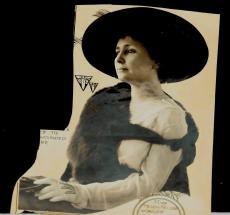 "1910 Helen Keller, Author & Political Activist, Original Photo Art, 6.5"" x 7.5"
