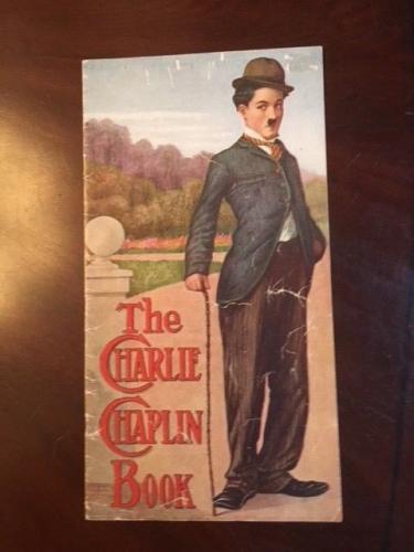 """1916, Charlie Chaplin, """"The Charlie Chaplin Book"""" (Scarce)"""