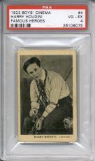 1922 Boys Cinema HARRY HOUDINI #4 PSA 4 Famous Heroes Handcuff King