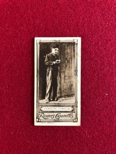 "1923, Charlie Chaplin, ""Edwards, Ringer & Bigg"" Cigarette Card (Scarce)"