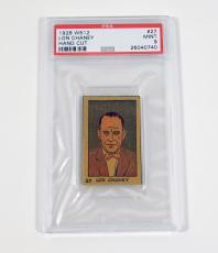 1926 W512 Lon Chaney #27 #177 The Man of a Thousand Faces PSA 9