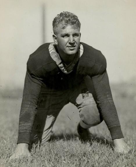 1929 Ralph Monk, University of Pennsylvania Football Team Guard, Orig. Photo