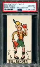 1930 D64 Pinocchio Circus Performers Bell Ringer Pop 1 Psa 10 N2586036-288