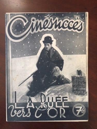"1930's, Charlie Chaplin, ""Cinesmcce's"" Magazine (RARE)"
