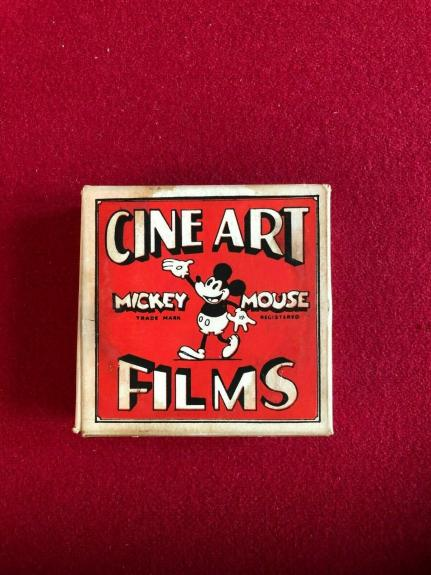 "1930's, Mickey Mouse (Walt Disney), ""CINE ART FILM"" (Scarce / Vintage)"
