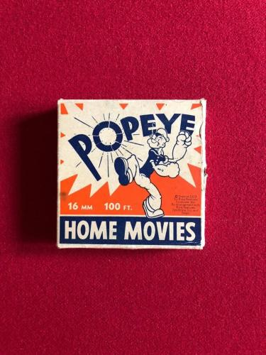 1930's, POPEYE, (16MM) HOME MOVIES (Scarce)