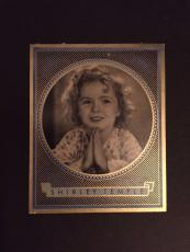 1930's Shirley Temple, German Cigarette Card