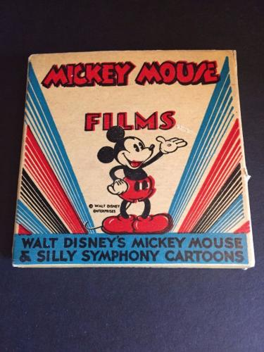 1930's Walt Disney, Mickey Mouse Film