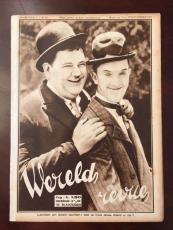 "1931, Laurel & Hardy, ""JAARGANG"" Magazine (Rare)"