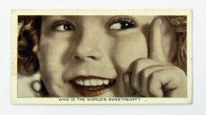 1935 Ardath Who Is This? Shirley Temple Tobacco Card DI41093