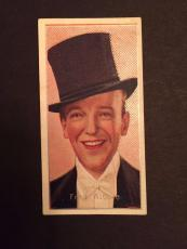 "1936 Fred Astaire, ""Carreras LTD"" Cigarette Card"
