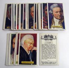 1937 Kensitas Builders of Empire Complete Trading Card Set (50)