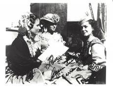 """1939 Movie """"GONE with the WIND"""" Signed by ANN RUTHERFORD as CARREN 10x8 B/W Photo"""