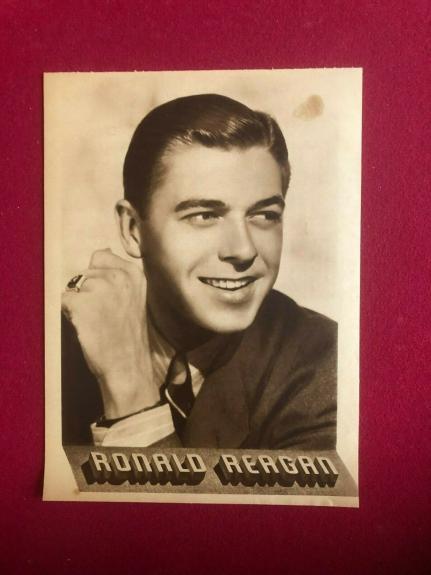 1939, Ronald Reagan, MGM Magazine Photo (Scarce / Vintage)