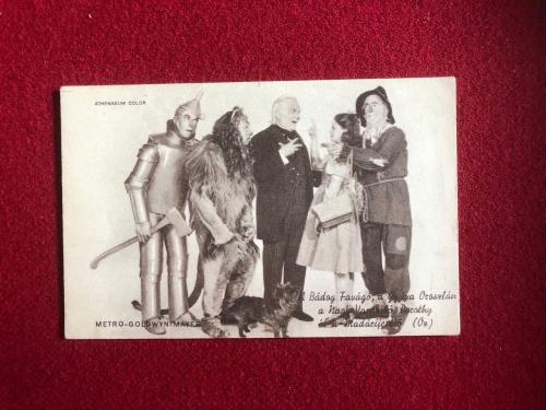 "1939, ""Wizard of OZ"", Cast Post Card (Scarce)"