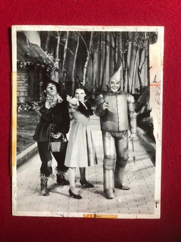 "1939, ""Wizard of OZ"", Original PR 8x10 Photo (Scarce)"