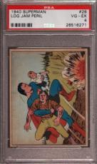 1940 Superman #26 Log Jam Peril Psa 4 N2387936-271