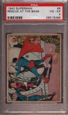 1940 Superman #8 Rescue At The Bank Psa 4 N2388051-398