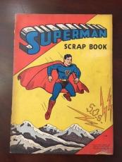 "1940, Superman, Oversize ""Scrap Book"" (Saalfield) (Rare)"