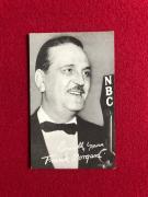 "1940's, Frank Morgan (Wizard of OZ), ""Salutation"" Exhibit Card (Scarce)"