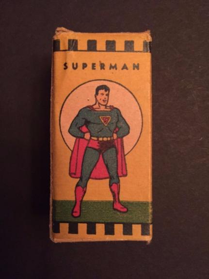 1940's Superman Film Strip, Original Box