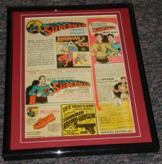 1941 Superman Products & Toys Framed 8x10 Advertisement Official Reproduction