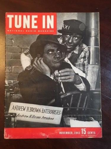 "1943, Amos & Andy, ""TUNE IN"" Magazine (Scarce)"