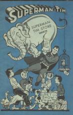 1944 DC Superman-Tim Store Booklet Comic Book Official Reprint