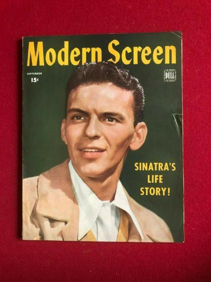 "1944, Frank Sinatra, ""Modern Screen"" Magazine (Scarce / Vintage)"