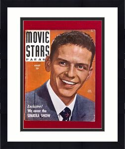 "1944, Frank Sinatra, ""MOVIE STARS PARADE"" Magazine (No Label) Scarce"