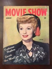 "1944, Lucille Ball ""Movie Show"" Magazine, (Scarce)"