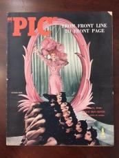 "1944, Lucille Ball ""PIC"" Oversize Magazine, (Scarce)"