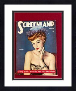 "1944, Lucille Ball, ""SCREENLAND"" Magazine (No Label) Scarce  (I Love Lucy)"