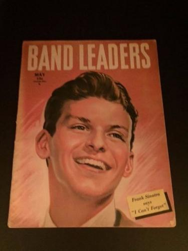 "1945 Frank Sinatra, ""Band Leaders"" Magazine, (No Label)"