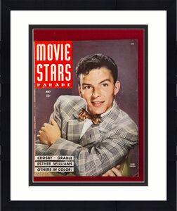 "1945, Frank Sinatra, ""MOVIE STARS PARADE"" Magazine (No Label) Scarce"