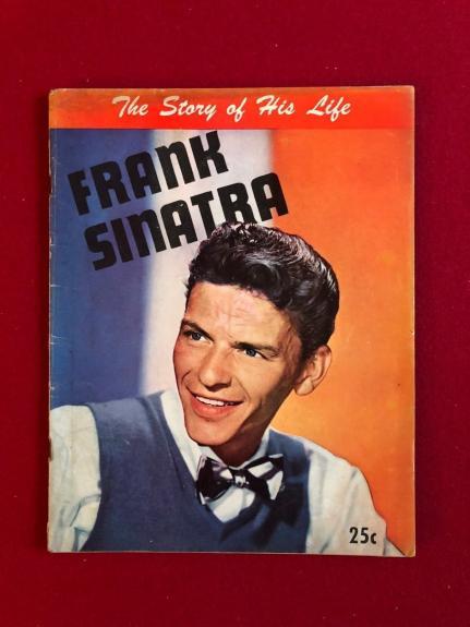 "1945, Frank Sinatra, ""Story of his Life"" Magazine (No Label) Scarce"