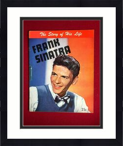 "1945, Frank Sinatra, ""The Story of His Life"" Magazine  (No Label ) Scarce"