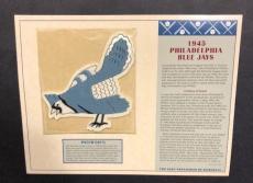 1945 Philadelphia Blue Jays Large Patch LOST TREASURES BASEBALL 5x6 Jimmy Foxx