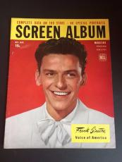 "1946 Frank Sinatra, ""Screen Album"" Magazine"