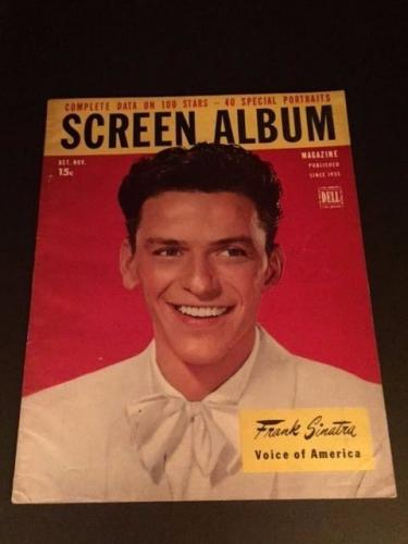 "1946 Frank Sinatra, ""Screen Album"" Magazine (No Label)"