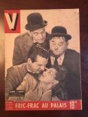 """1946, Laurel & Hardy, """"V"""" Oversize  Magazine (Scarce)"""